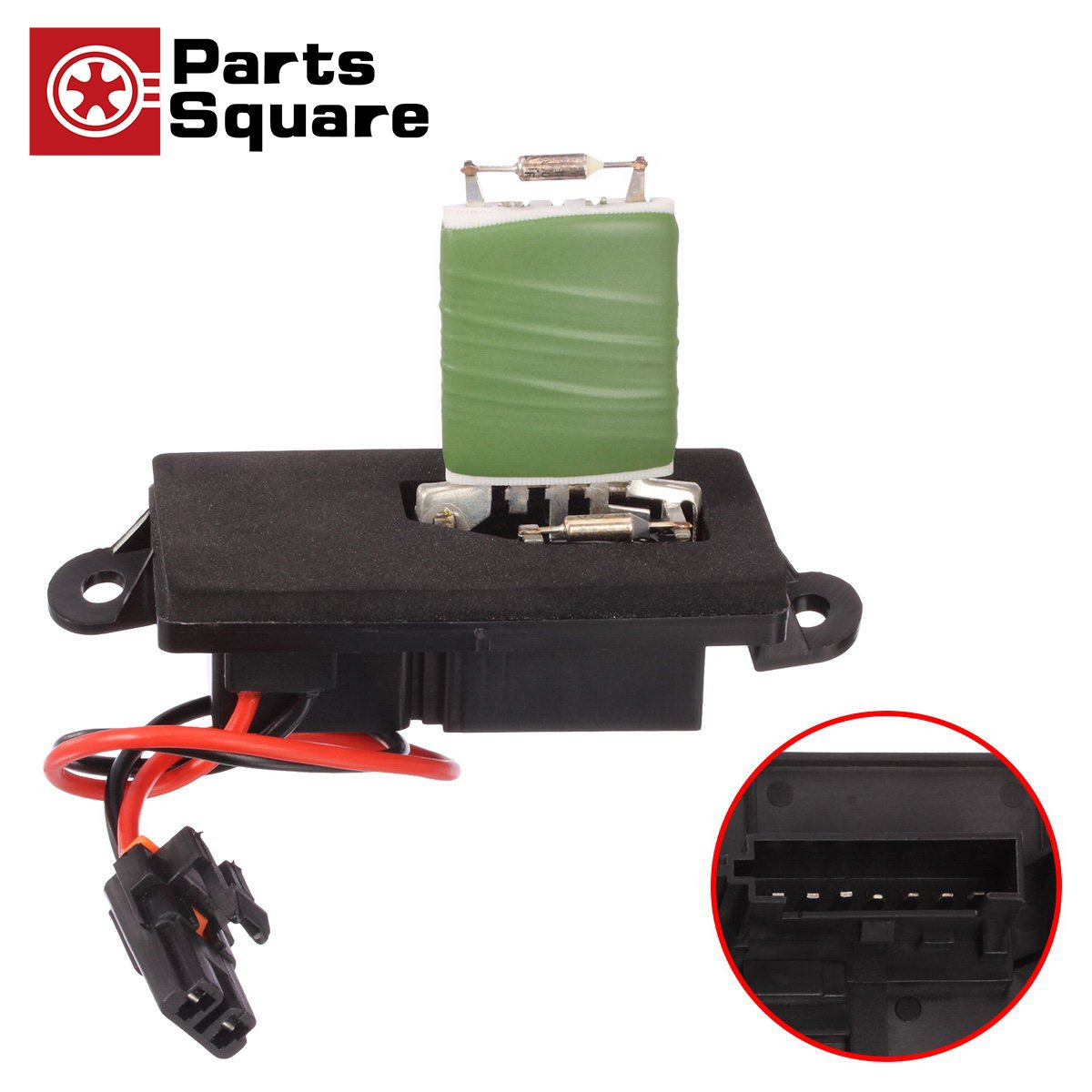 Partssquare Manual Blower Motor Resistor 3a1042 Ru371 Gmc Envoy Parts Diagram Auto Diagrams Besides R 89019089 Replacement For 2001 2002 Yukon Xl 1500 Chevrolet Suburban 2500