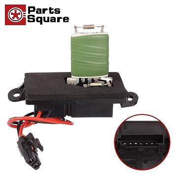 partssquare manual hvac blower motor resistor 89019089 3a1042 fits for 02  03 04 05 06 cadillac escalade chevy avalanche 1500 2500 silverado 1500 2500  3500
