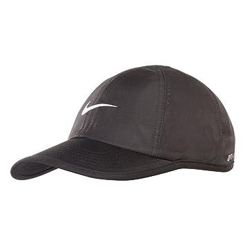 buy popular 76e0f b291b Nike Youth Feather light Cap (Black white)  Amazon.co.uk  Sports   Outdoors