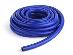 "FlexFab - 1"" ID x 10 ft 5526 Blue Silicone Heater Hose 25mm 350F Radiator Coolant"
