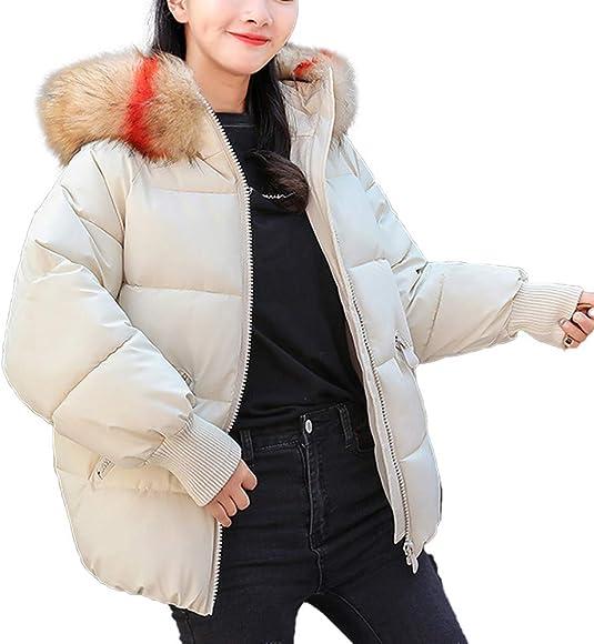Linlink Gran promoción Mujeres Invierno cálido Abrigo de Piel ...
