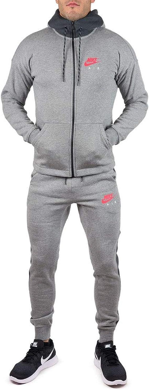 Nike Air NSW - Chándal completo para hombre Gris gris L: Amazon.es: Ropa y accesorios