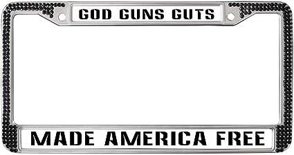 Made in AMERICA License Plate Frame