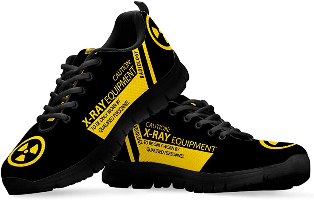 Radiology Men Sneakers Shoes Gifts for Radiologist Rad Tech RT Graduate Student