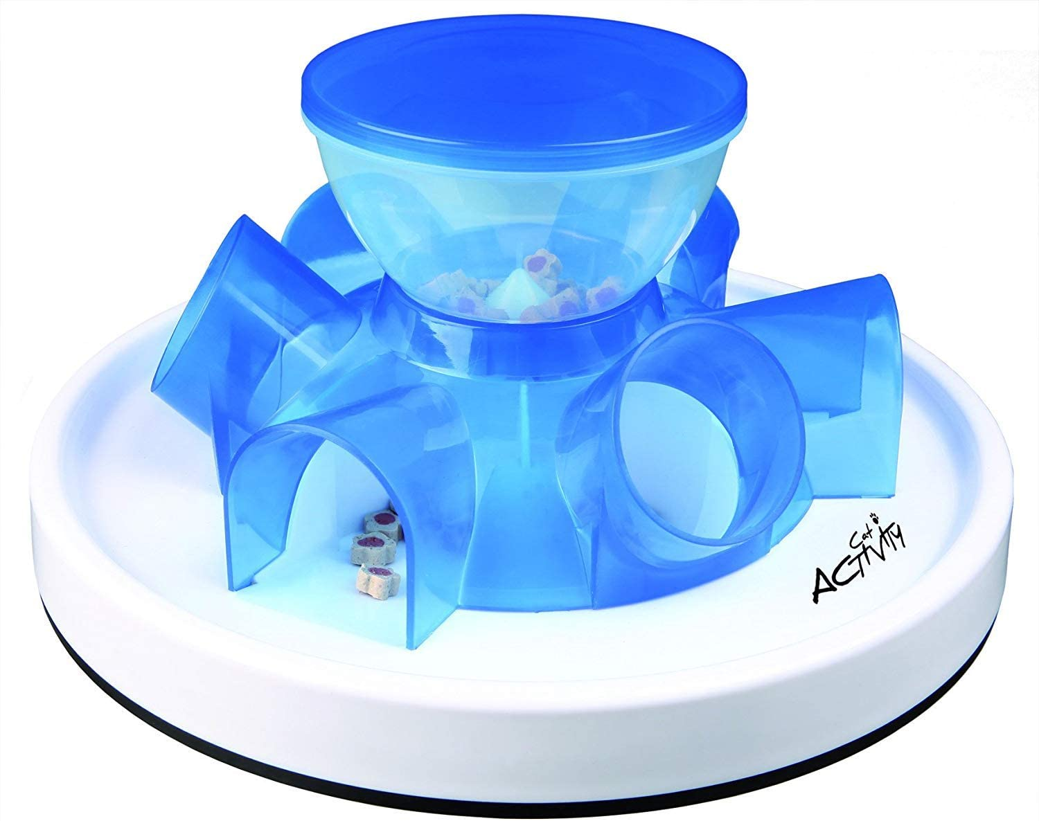 Amazon.com : TRIXIE Pet Products Tunnel Self Feeder for Cats : Pet Supplies