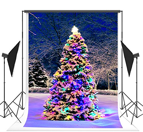 Colorful Christmas Background For Kids.Amazon Com Kate 5x7ft Glitter Colorful Christmas Tree