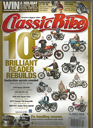 Classic Bike Magazine (U.K.Edition,January 2012)
