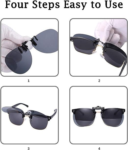 Amazon.com: Gafas de sol polarizadas para conducción, con ...