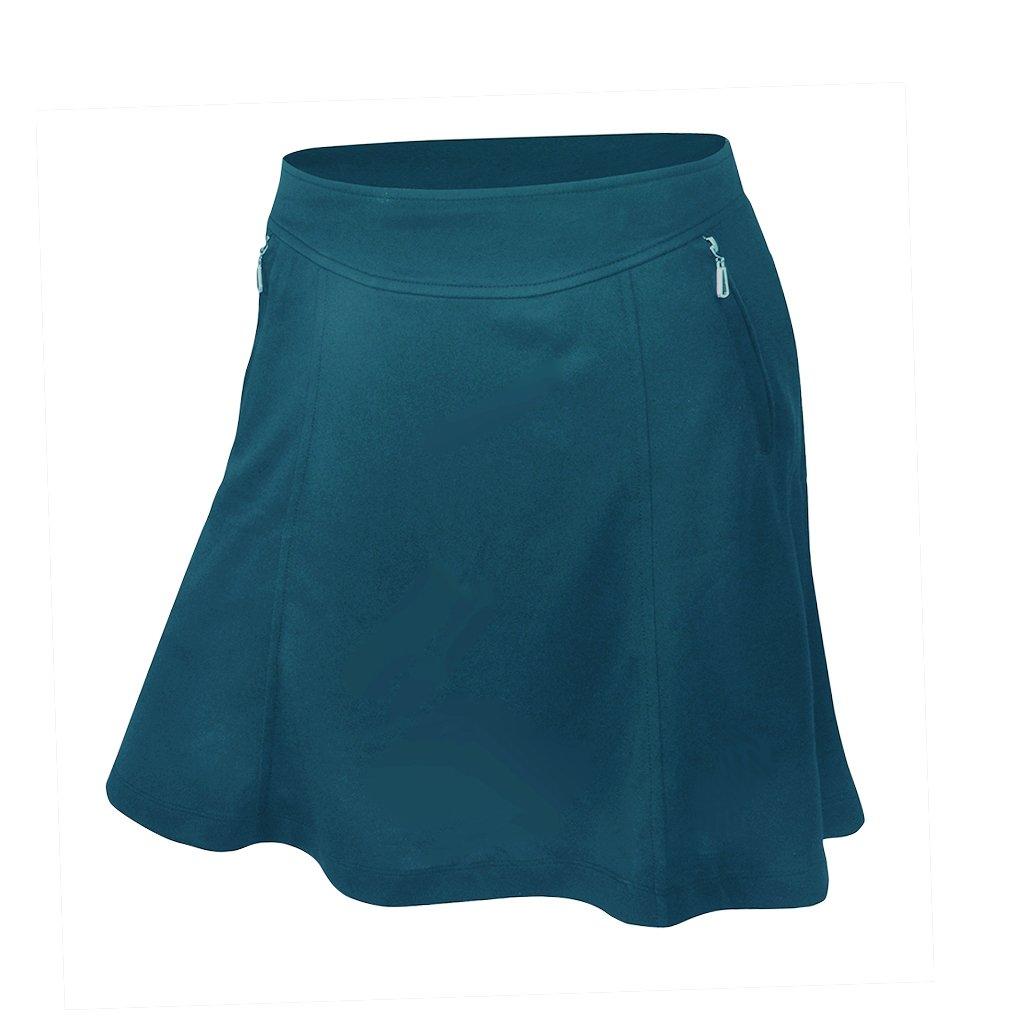 Monterey Club Ladies Dry Swing Betty Fun Skort #2924 (Algiers Blue, X-Small)