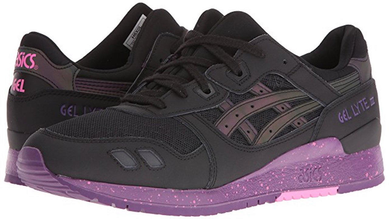 ASICS Men's GEL-Lyte III Sneaker B071SBJ19D 8 D(M) US Black / Black