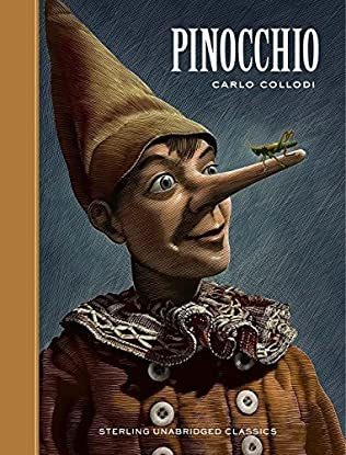 book cover of Pinocchio