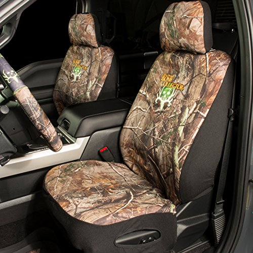 Bone Collector Camo Neoprene Low Back Bucket Seat Cover Import It All