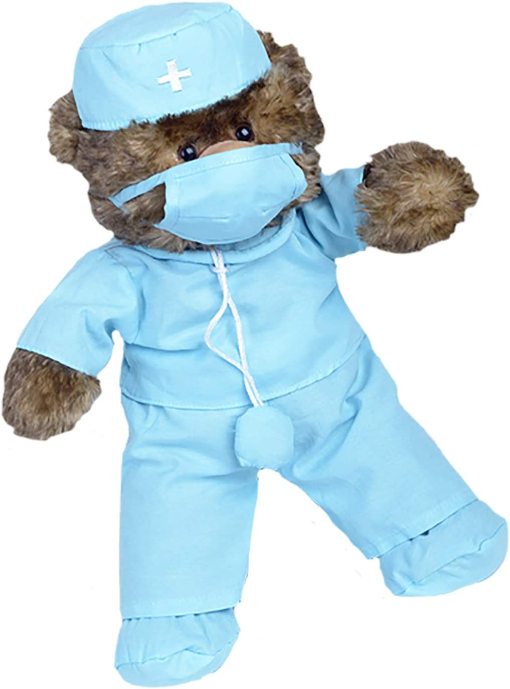 """B003GQWWL0 Doctor \""""Scrubs\"""" Outfit Teddy Bear Clothes Fits Most 14\"""" - 18\"""" Build-A-Bear and Make Your Own Stuffed Animals 61AQPYMBcpL"""