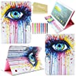 Tab S 10.5 (T800) Case, Dteck(TM) Stylish Protective Flip Folio PU Leather Smart Stand Case for Samsung Galaxy Tab S 10.5 T800 (Mysterious Eye)