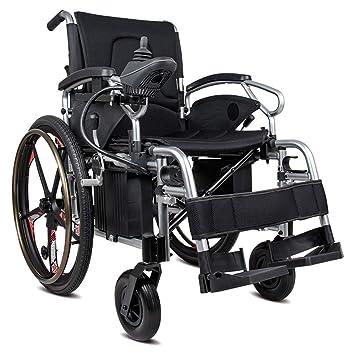 Wheel-hy Silla de Ruedas Plegable de la energía eléctrica, con el Respaldo reclinable