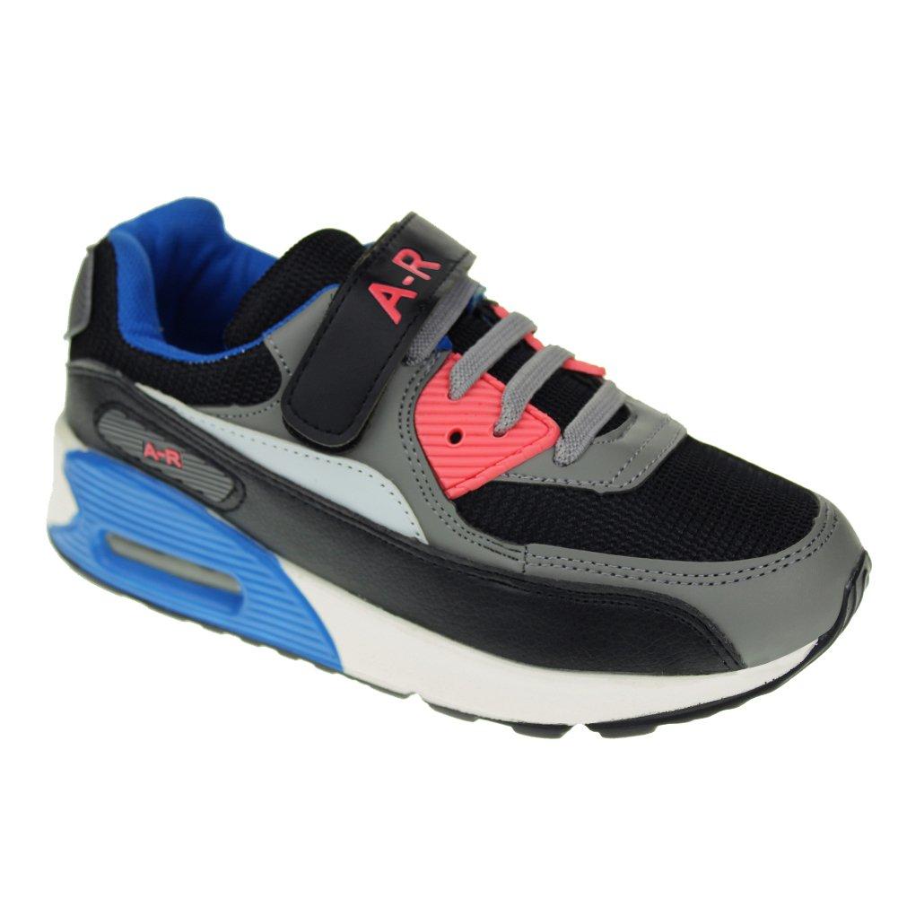 Hawkwell Kids Running Shoes Boys Girls Strap Breathable Hiking Walking Sneakers(Toddler/Little Kid/Big Kid)