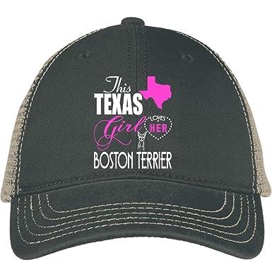 61d6fd73b7eaa I Love Boston Terrier Puppy Hat