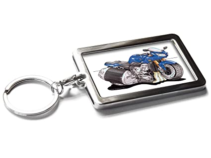 Koolart - Llavero de Metal para Motocicleta Yamaha Fazer FZ1 ...