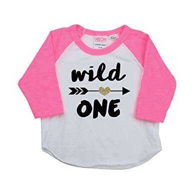 1 Year Old Birthday Shirt Girl First Outfit