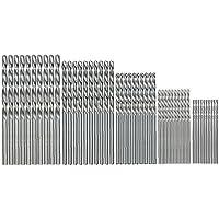 Borenset HSS Twist Straight Shank High Speed Steel 1mm 1 5mm 2mm 2 5mm 3mm for Metal Wood Plastic 50st Elektrisch…