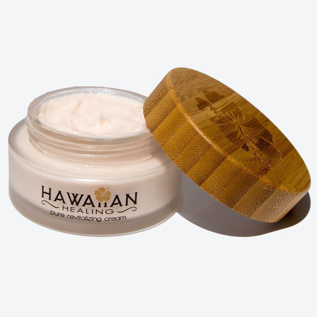 Hawaiian Healing Skin Care Anti-Aging & Hydrating Face Cream with Organic Hawaiian Macadamia Flower Honey and Hawaiian Astaxanthin to Reduce Appearance of Wrinkles & Fine Lines (100 gram)
