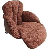 【加长豪华版】Yandex 日式加厚羊羔绒绒保暖坐垫 办公室御寒垫 榻榻米 学生椅垫 护腰靠垫 (咖啡色)