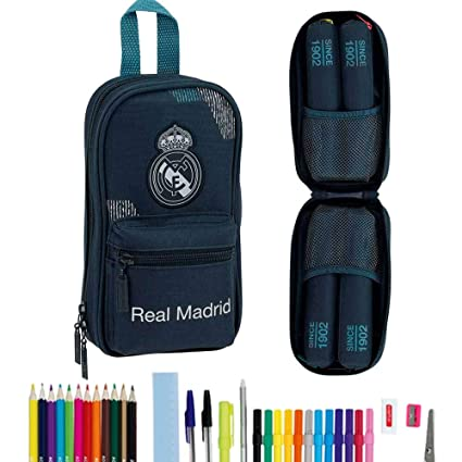 Amazon.com: SAFTA - Mochila Real Madrid Relleno, Multicolor ...