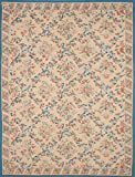 11'0'' X 14'0'' French Tapestry Traditional Ivory Area