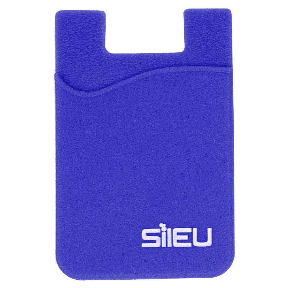 Colores al Azar 4 x Bolsillos de Silicona Multiusos Portatarjetas con Adhesivo 3M para Movil y Cartera Compatible con Todos los Modelos de Smartphone e iPhone