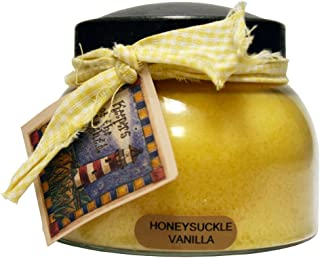 product image for A Cheerful Giver Honeysuckle Vanilla 22 oz. Mama Jar Candle, 22oz, Yellow