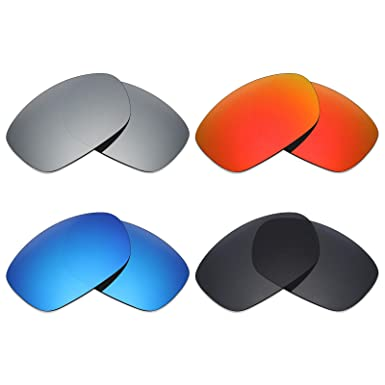 f5c753930f7 Image Unavailable. Image not available for. Color  Mryok 4 Pair Polarized  Replacement Lenses for Oakley Ten X Sunglass ...