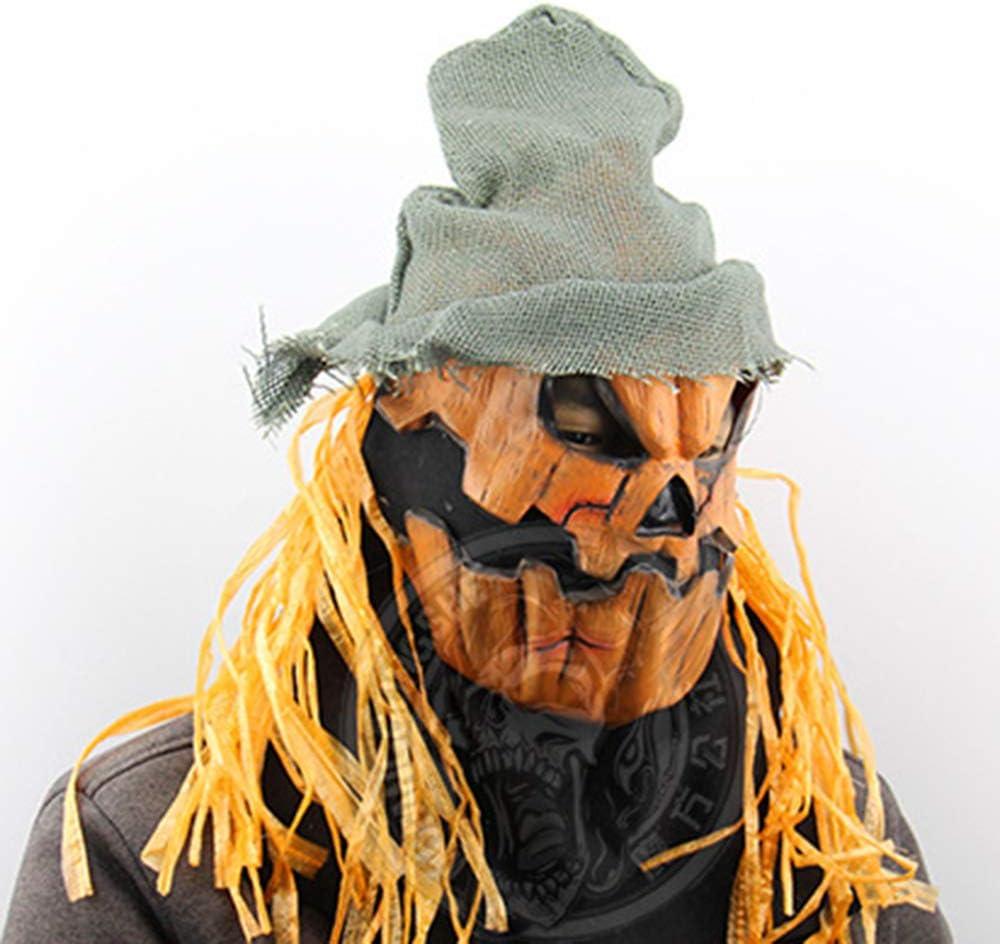 LINMASK Máscara De Látex Máscaras De Terror, Espantapájaros De La ...