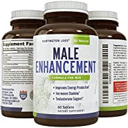 Pure Maca Supplement ? Natural & Real Enhancement ? Highest Grade and Quality Tablets ? Pure Maca Root, L-Arginine & Tongkat Ali Powder - Lifetime Guarantee by Huntington Labs