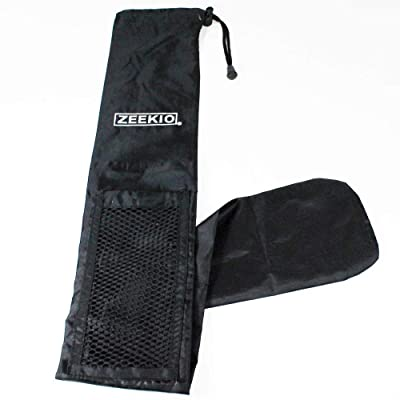Zeekio Devil Sticks Bag - Black: Toys & Games