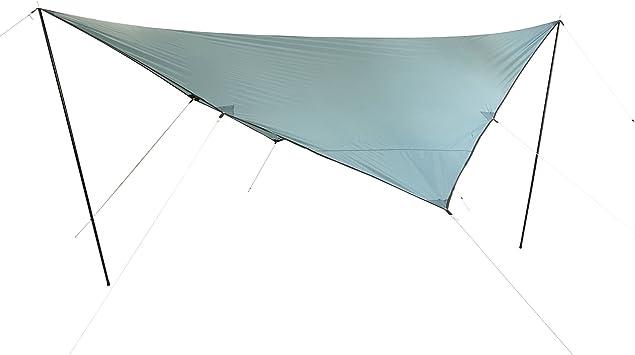 10T Tarp Beechnut 3x3 m Sonnensegel UV 80 Sonnenschutz wasserdichtes Sonnendach Gr/ün inkl Zubeh/ör