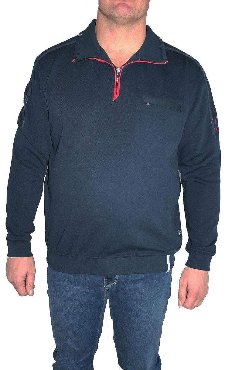 Hajo Sweatshirt Langarm 25821 609 Marine Uni
