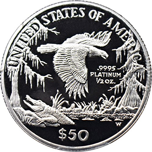 Platinum coin statue liberty