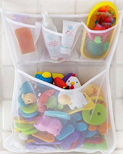 Organizador de malla infantil, para el baño o bañera, bolsa ...