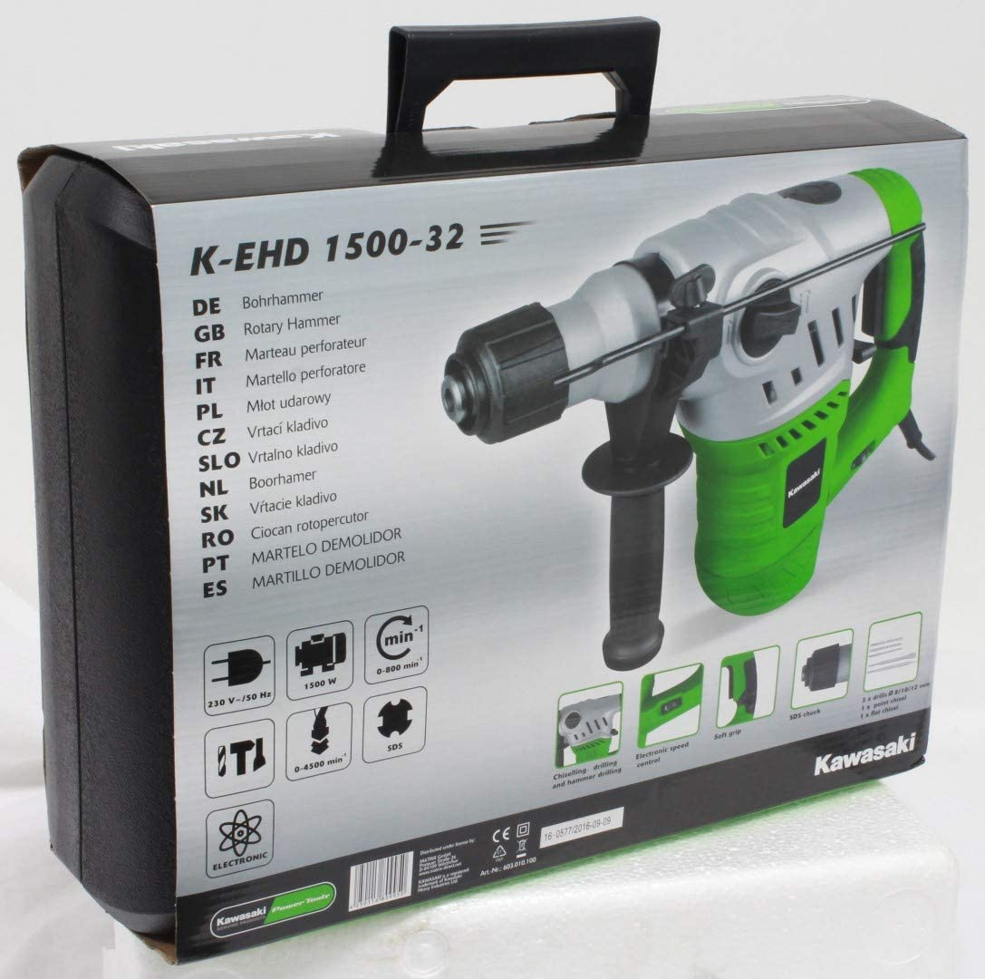 Kawasaki K-EHD 1500-32 Perceuse /à percussion 1500 W