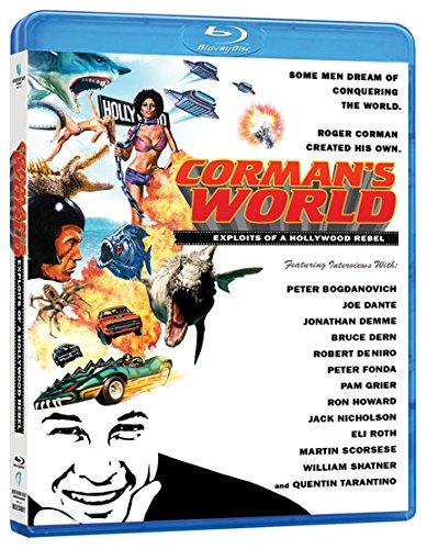 Blu-ray : Corman's World: Exploits of a Hollywood Rebel (Blu-ray)