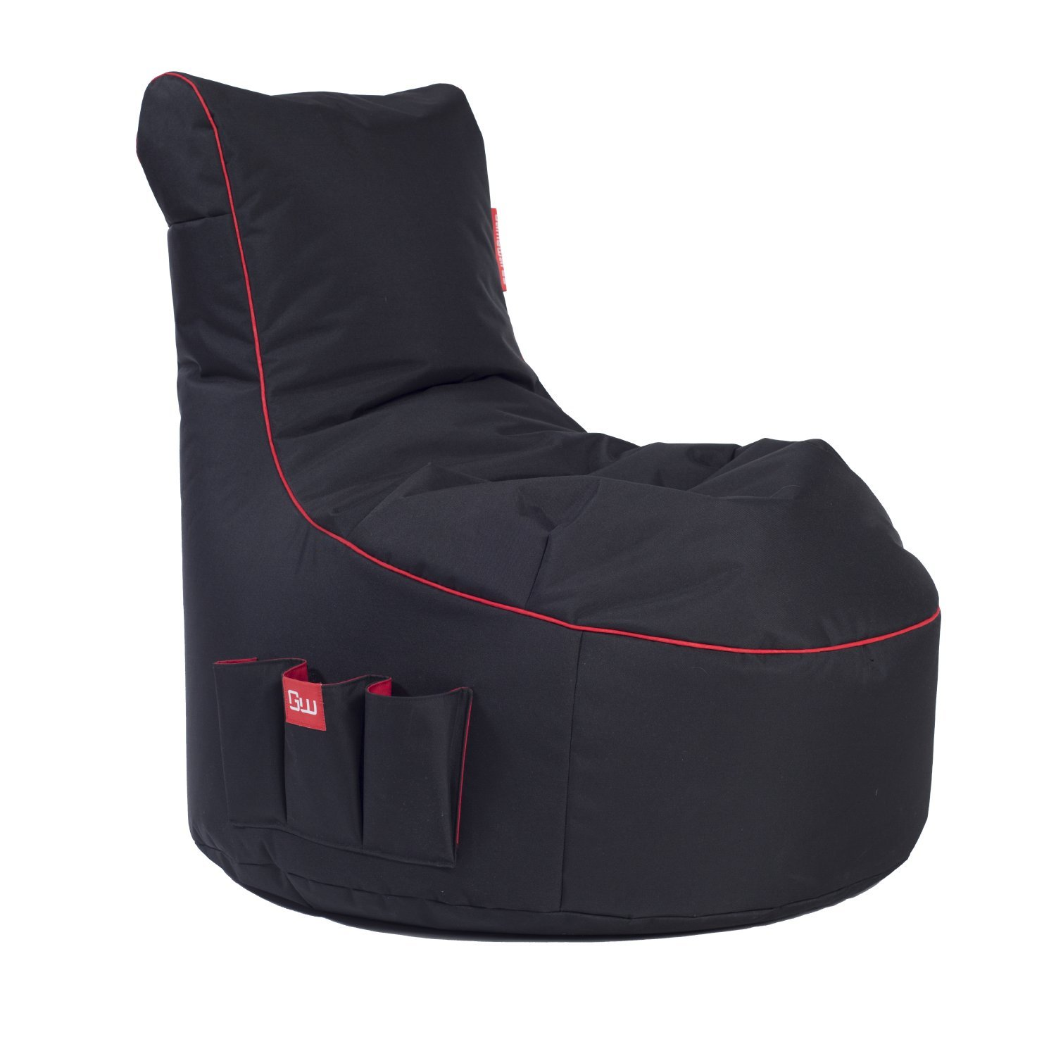 GAMEWAREZ Crimson Thunder 2.0 Gaming Sitzsack Bild