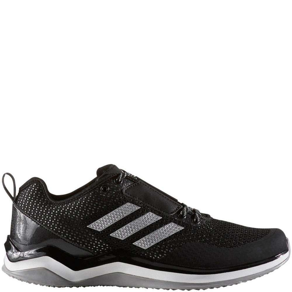 adidas Mens Speed Trainer 3.0 IRONSKIN Baseball Shoes Black 10.5 Medium (D) by adidas