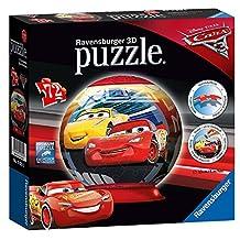Disney Pixar Cars 3 'Lightning Mcqueen' 3d 72 Piece Ball Jigsaw Puzzle Game