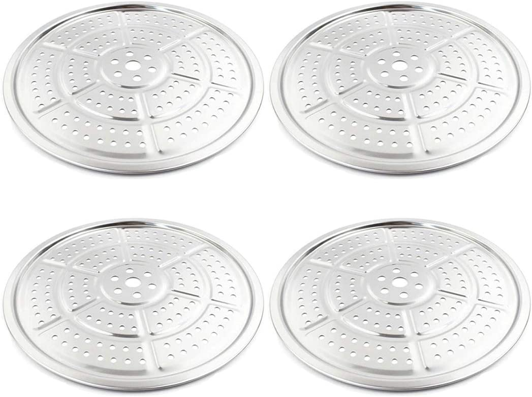 4Pack 11Inch Canner Rack Pressure Cooker Canner Rack Stainless Steel Canning Racks for Cooking (Pentagon)