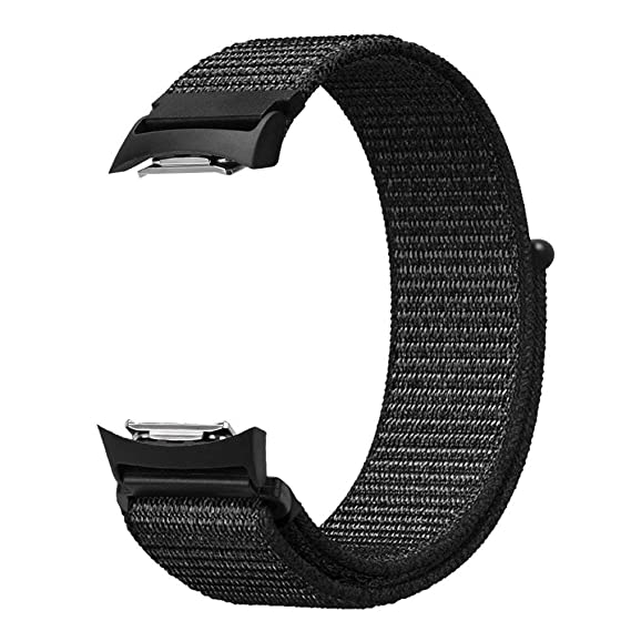 Baoking Compatible for Gear S2 Band, Nylon Sport Loop Replacement Strap Bands with Adjustable Closure for Samsung Gear S2 SM-R720/SM-R730 Smart ...