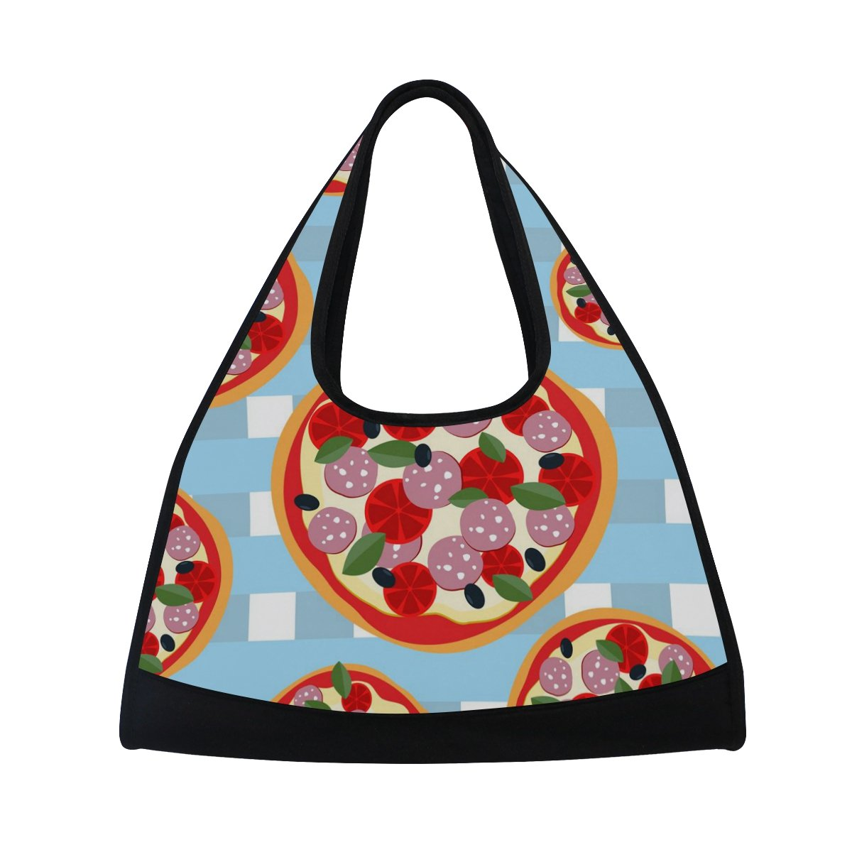 Sport Gym Bag Watercolor Colorful Fruit Canvas Travel Duffel Bag