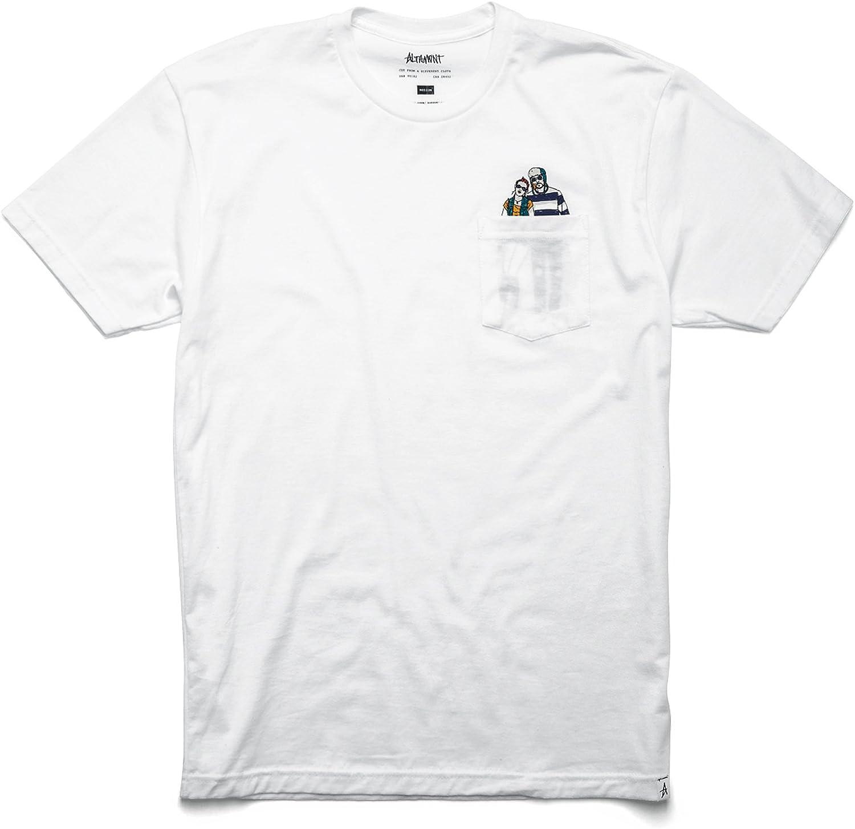 Altamont Skateboard T-Shirt Rainy Fence Royal