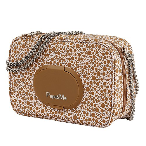 Moda fuera del hombro multi-funcional para mencionar el agua madre bebé bolsa, mamá bolsa, madre paquete ( Color : Naranja ) Marrón