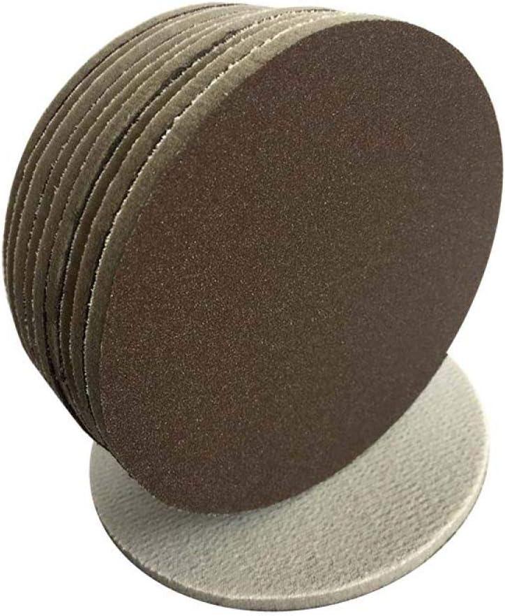 LCDIEB Sandpaper 20PCS 5 Inch Red Ceramic Sanding Sponge Sandpaper Hook and Loop 300-1500 Grit for Polishing Grinding,500,600 300-400