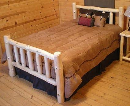 Astounding Amazon Com Twist Of Nature Traditional Standard Log Bed Download Free Architecture Designs Rallybritishbridgeorg